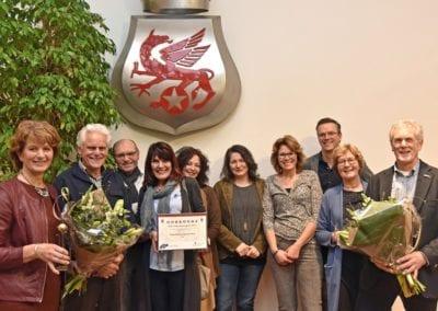 organisatie won Willewarkerspries 2016 (foto: Lenus van der Broek)