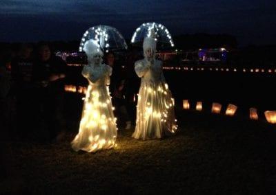SamenLoop: Prachtige en indrukwekkende lichtjesceremonie