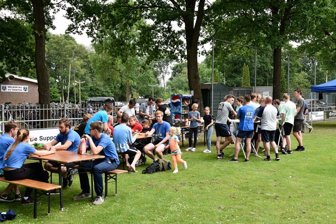 Snack&Bar 't Zwaantje zorgde voor eten en drinken