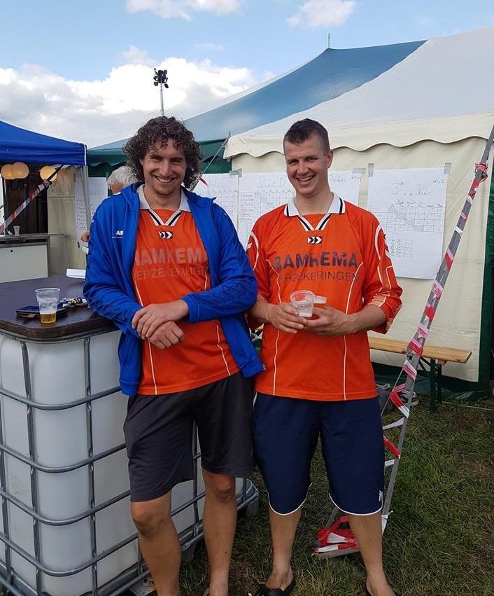 zaterdag volleybal 3e prijs
