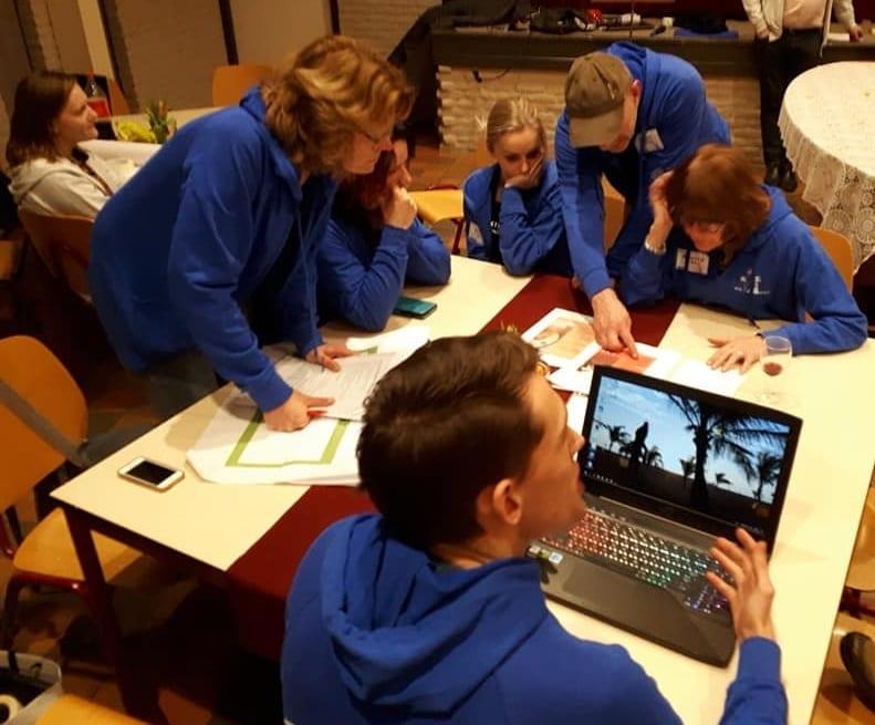 Hackathon team blauw dorpsapp2