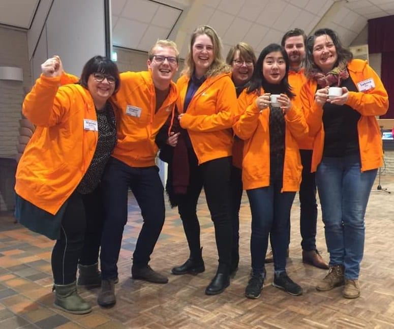 Hackathon team oranje jeugddorpsbelang