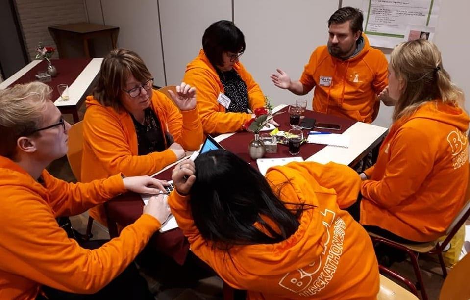 Hackathon team oranje jeugddorpsbelang2
