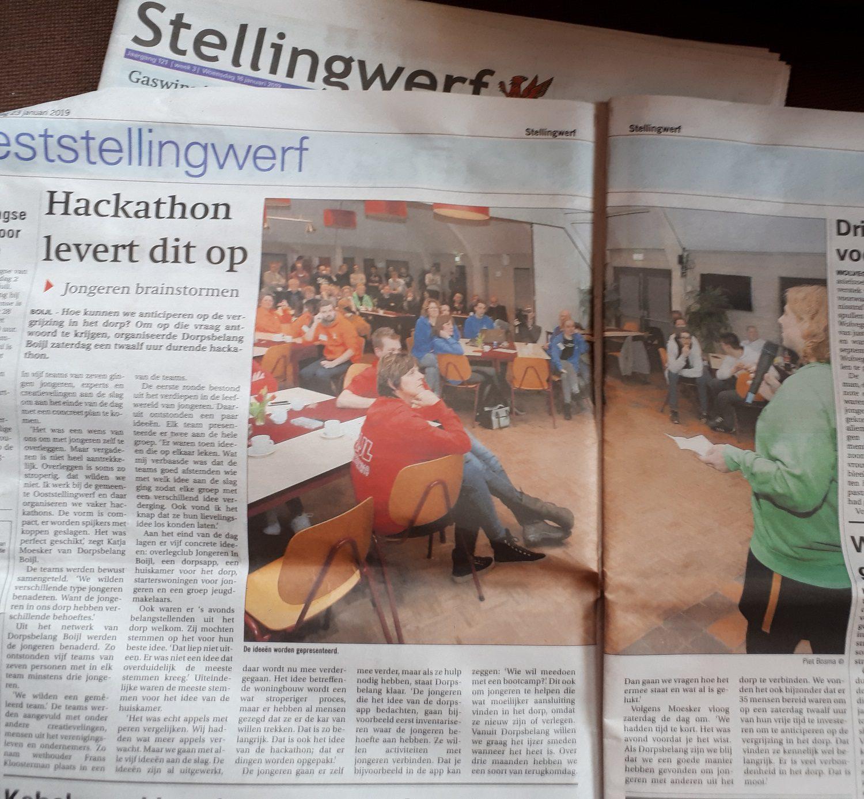 1-23 Hackathon in Stellingwerf