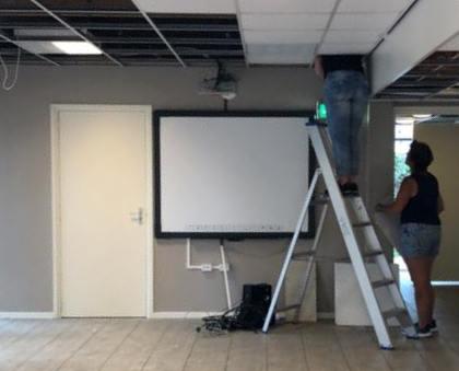 8 ontruiming plafond eruit